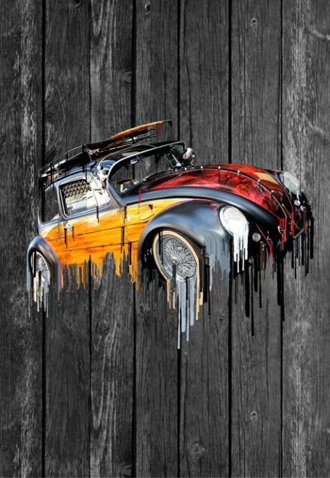 vw beetle screensaver iphone android