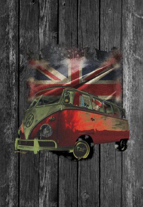 vw camper screensaver phone