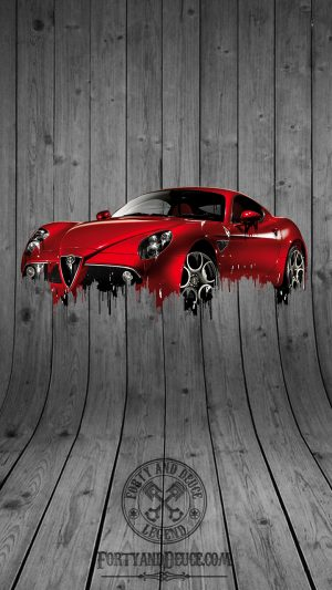 Alfa Romeo 8C Liquid Metal