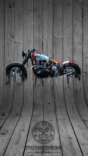 Triumph Bobber Phone Live Wallpaper