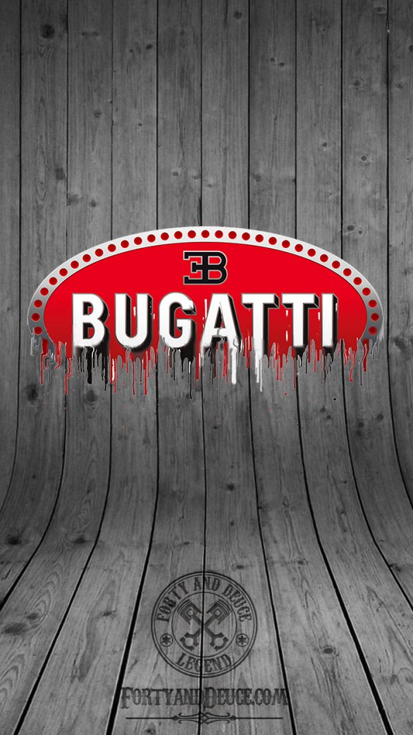 Bugatti badge wallpaper