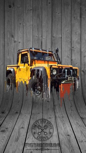 Landrover Defender Liquid Metal 4x4