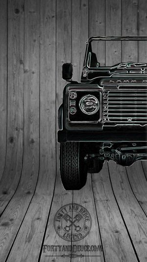 Landrover Defender Half Car 4x4