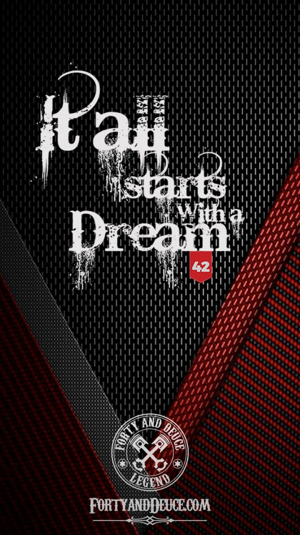 It All Starts With a Dream Quotes Phone Candy