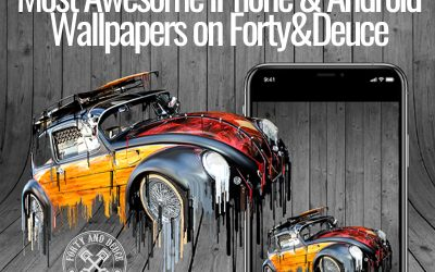 Most Awesome iPhone & Android Wallpapers on Forty&Deuce [Infographic]
