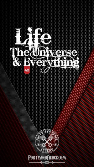Life, The Universe and Everything Quotes Phone Candy