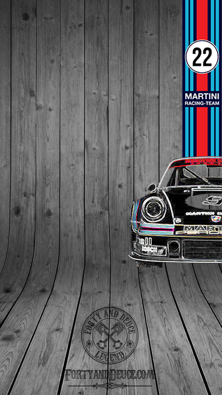 Porsche 911 Martini Half Car Iphone Android Phones Smart Phone Phone Tablet Wallpaper Screensaver Mobile Samsung Forty And Deuce Iphone Android Wallpapers