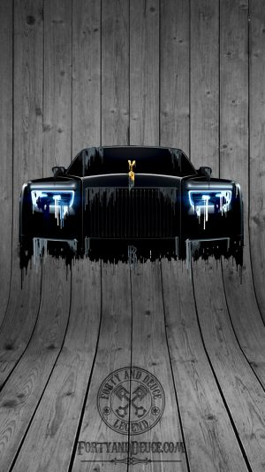 Rolls Royce Phantom Liquid Metal