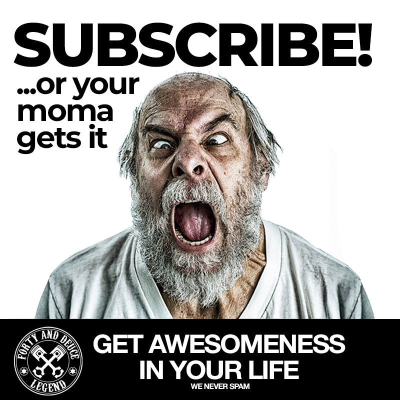 Subscribe to fortyanddeuce newsletter